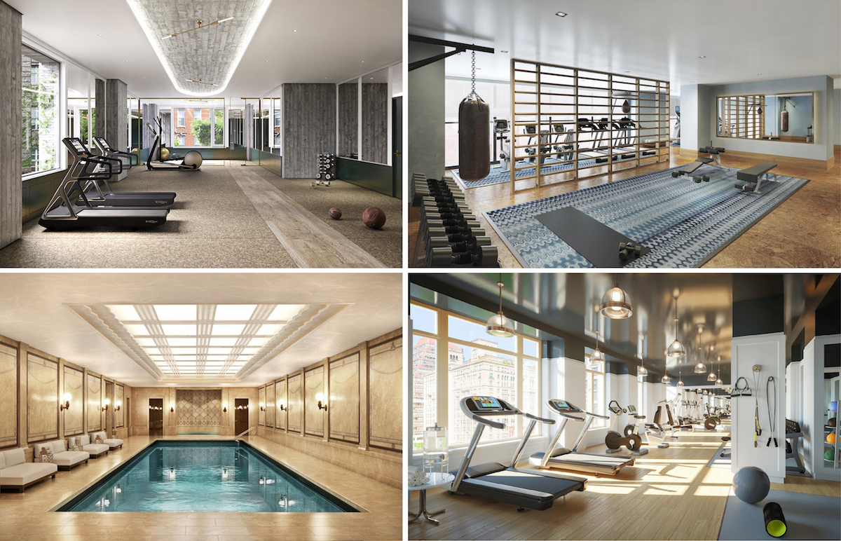 the 15 best gyms in nyc residential buildings ddg investment and