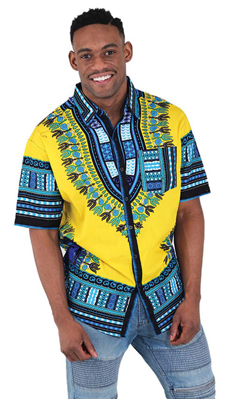 African Clothing C-M077-GO