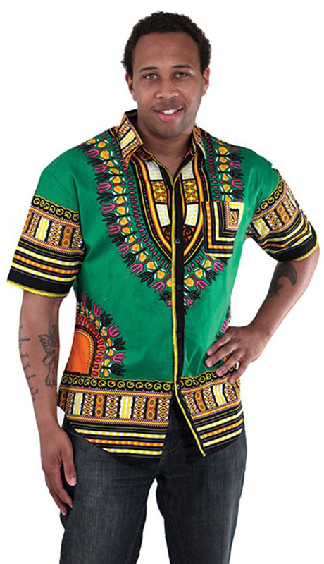 African Clothing C-M077-GR