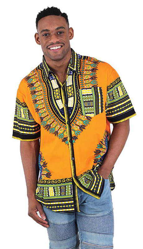 African Clothing C-M077-OR