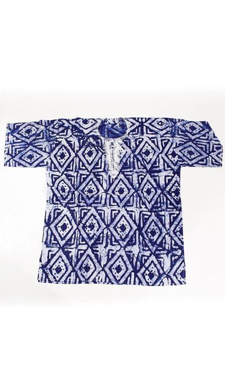 African Clothing C-M082-BLU