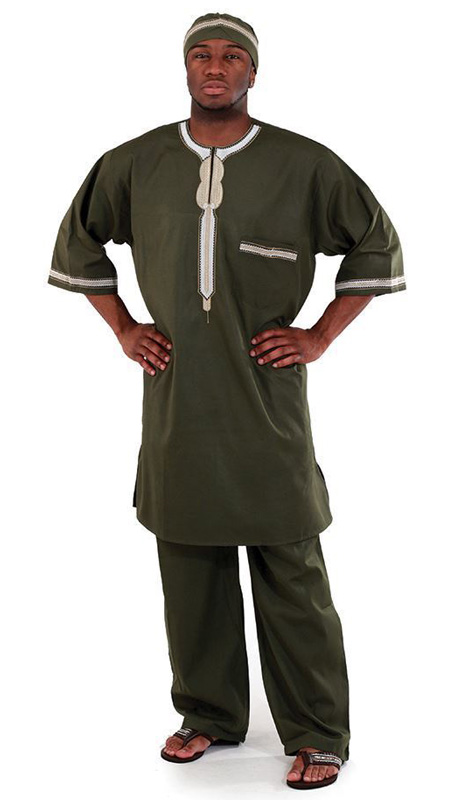 African Clothing C-M083-GRE