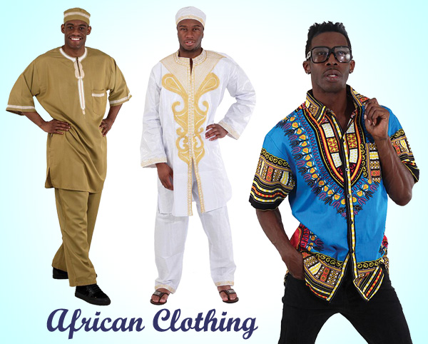 Mens African Clothing Spring and Summer