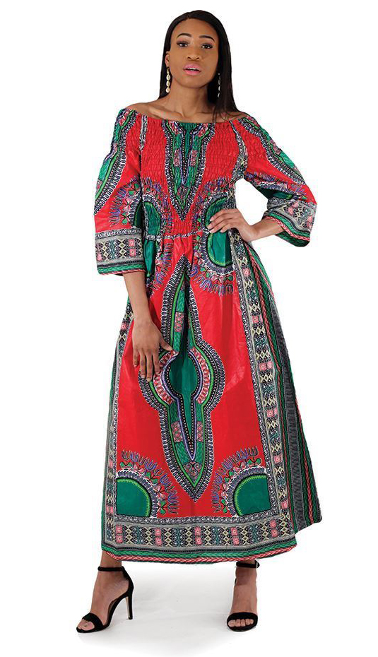 African Clothing C-W123-RE