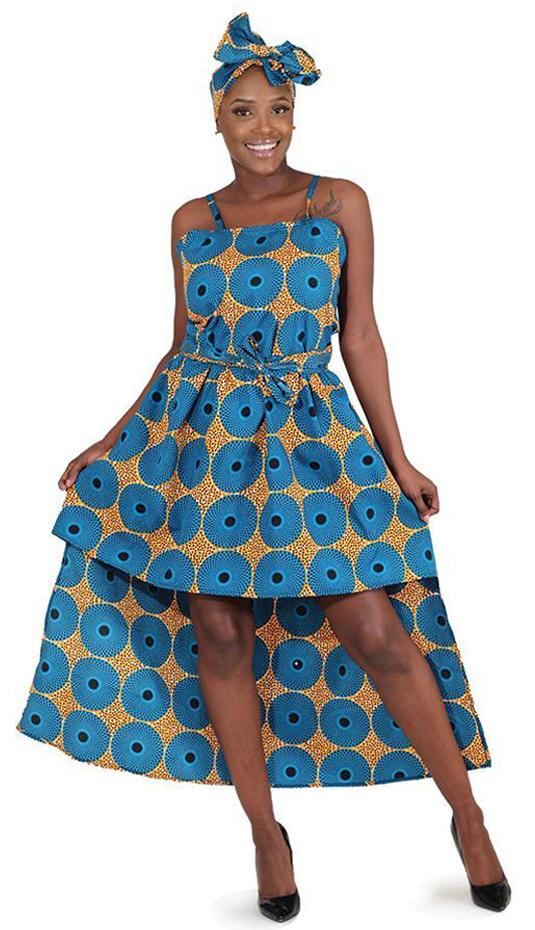 African Clothing C-WK085-TUR