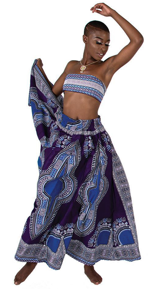 African Clothing C-WF906-PUR