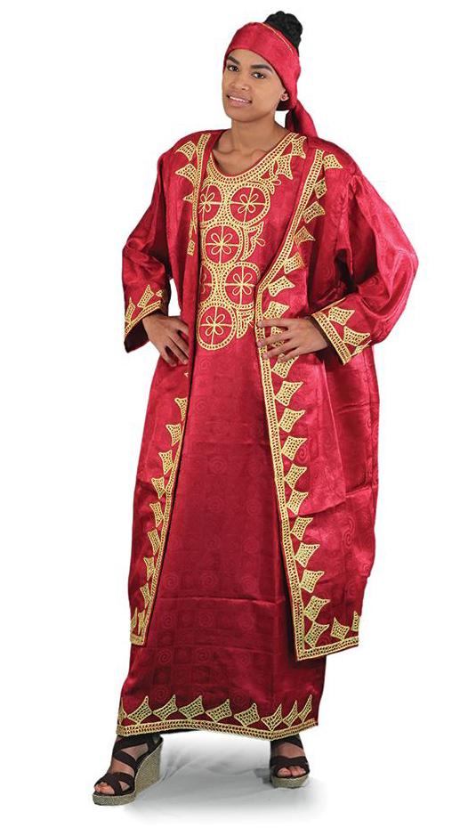 African Clothing C-WH361-BUR