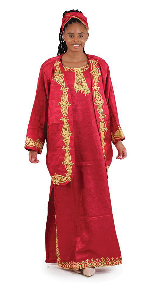 African Clothing C-WK001-BUR