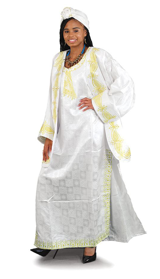 African Clothing C-WK001-WH
