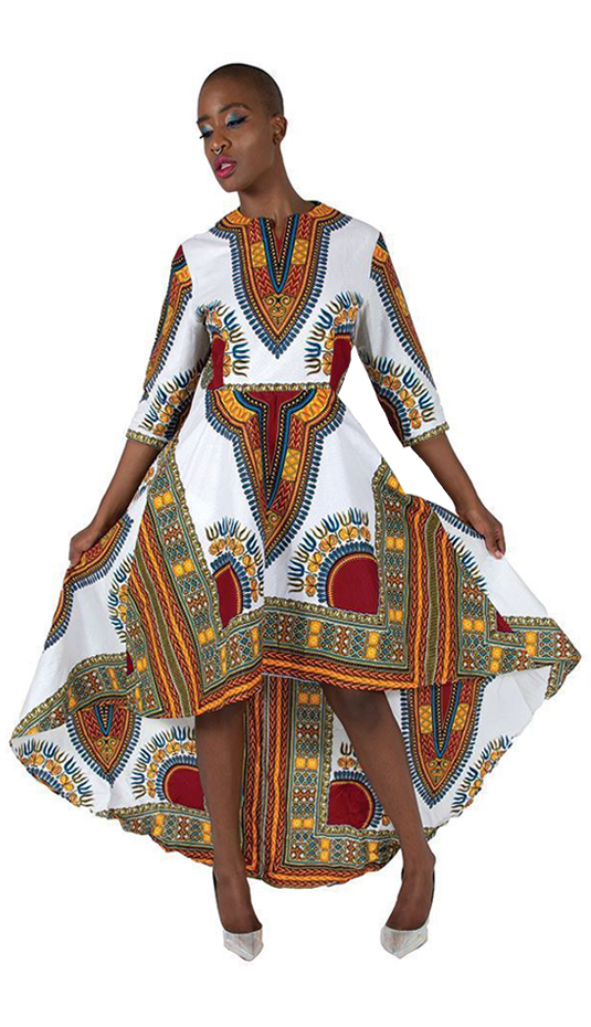 African Clothing C-WK023-WH