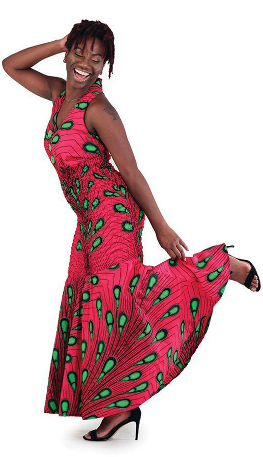 African Clothing C-W103