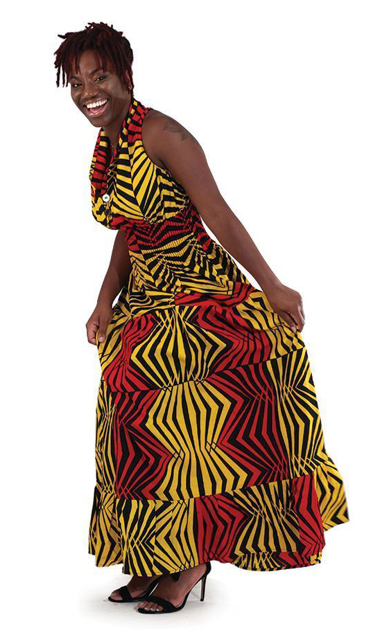 African Clothing C-WK047