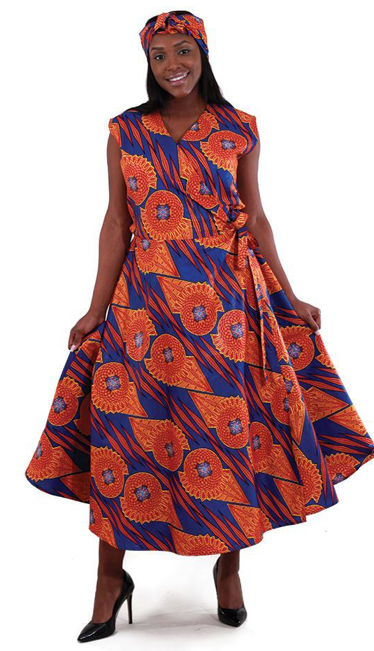 African Dress C-WH160