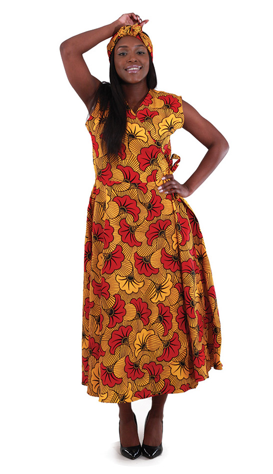 African Dress C-WH161