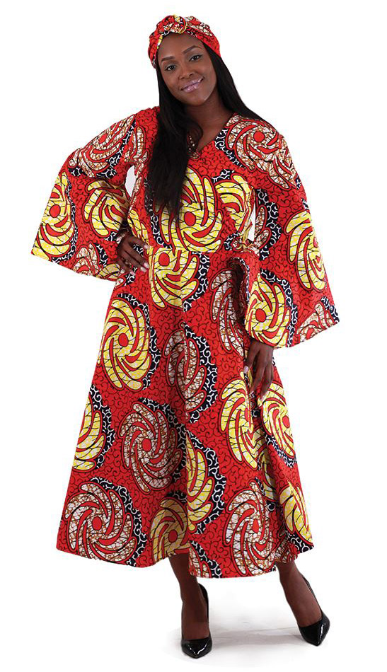 African Dress C-WH170