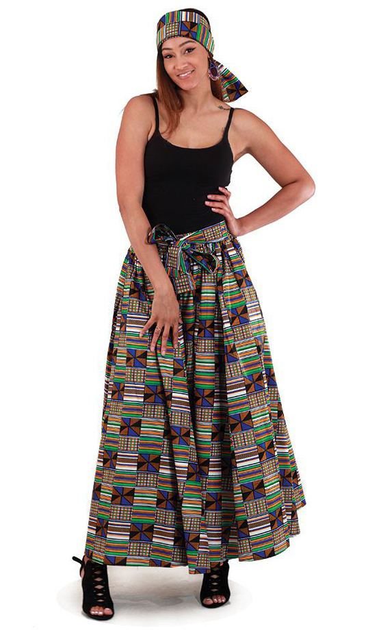 African Skirt C-WH200