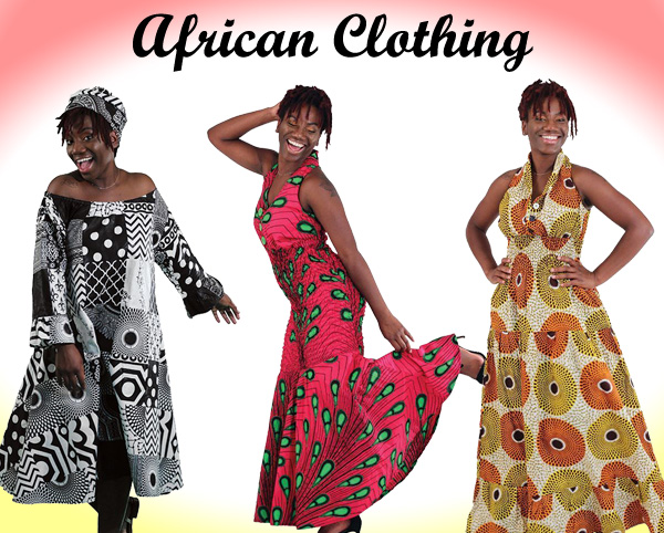 Ladies African Clothing All Year Round
