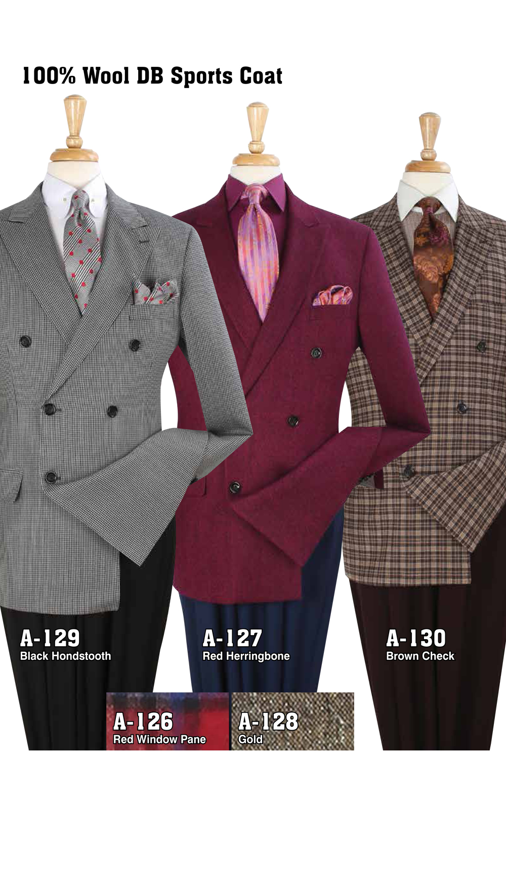 High Fashion Men Suits A-129