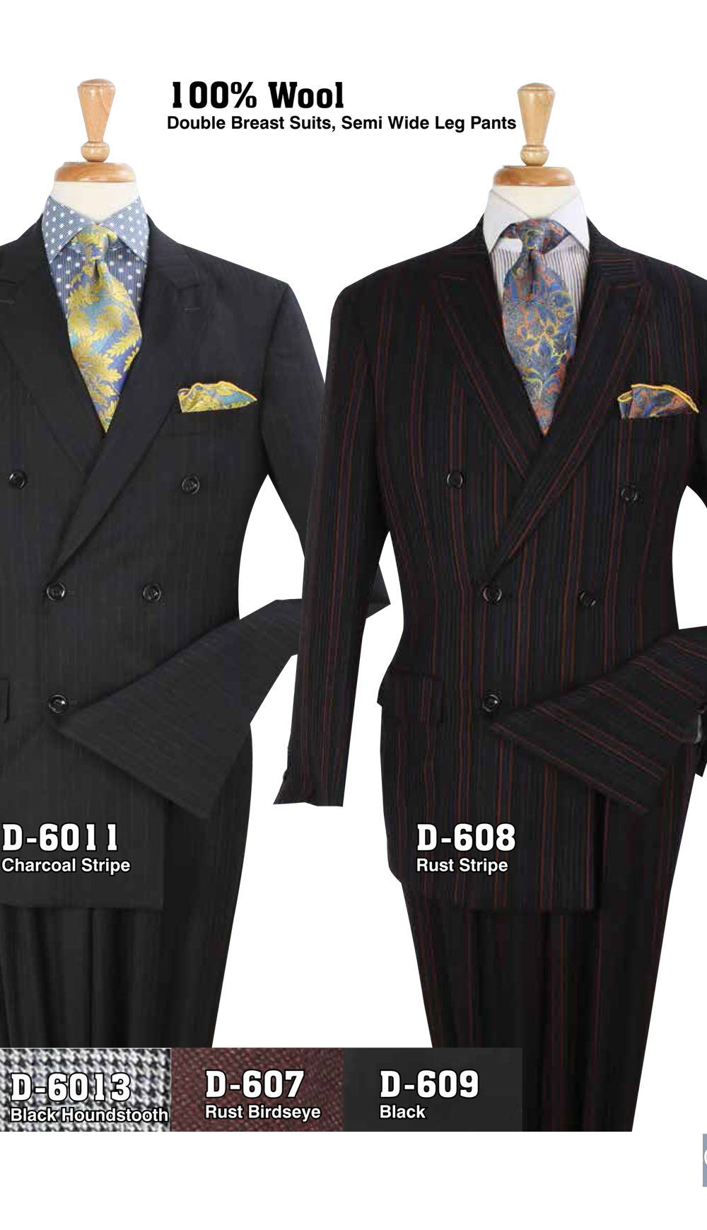 High Fashion Men Suits D-6011
