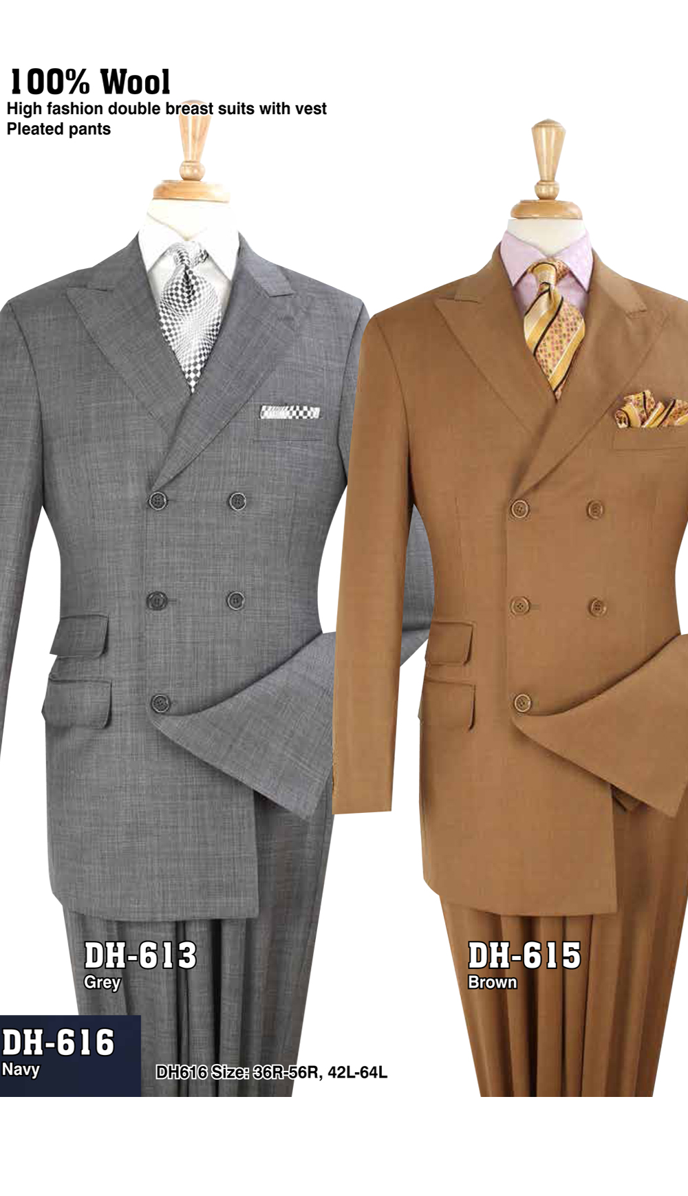High Fashion Men Suits DH-613