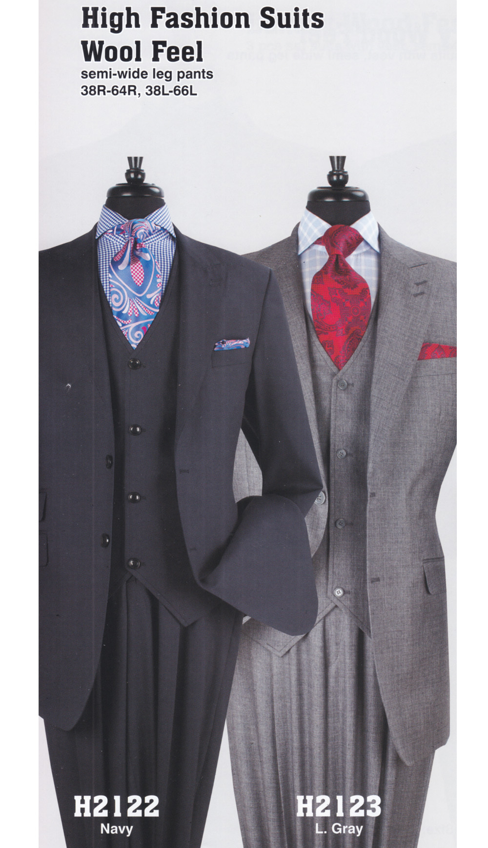 High Fashion Men Suits H2123