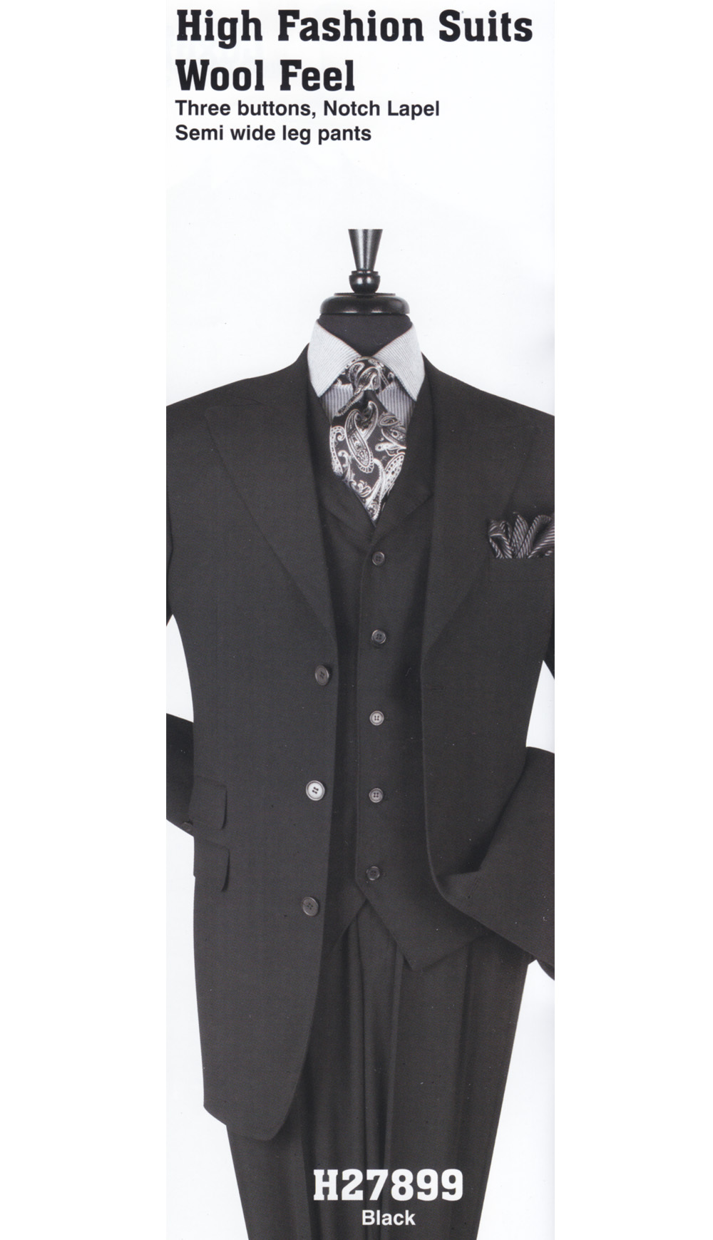 High Fashion Men Suits H27899