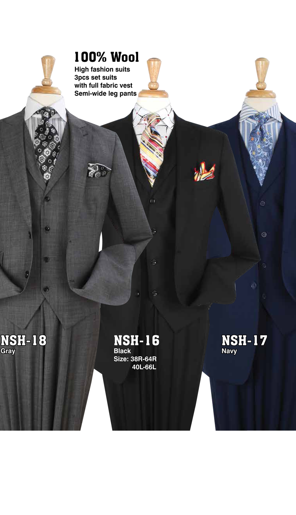 High Fashion Men Suits HSH-18