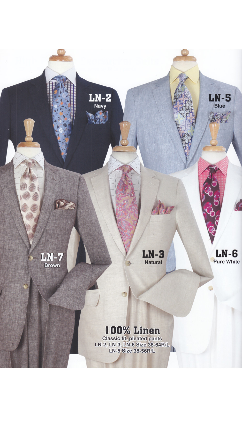 High Fashion Men Suits LN-3