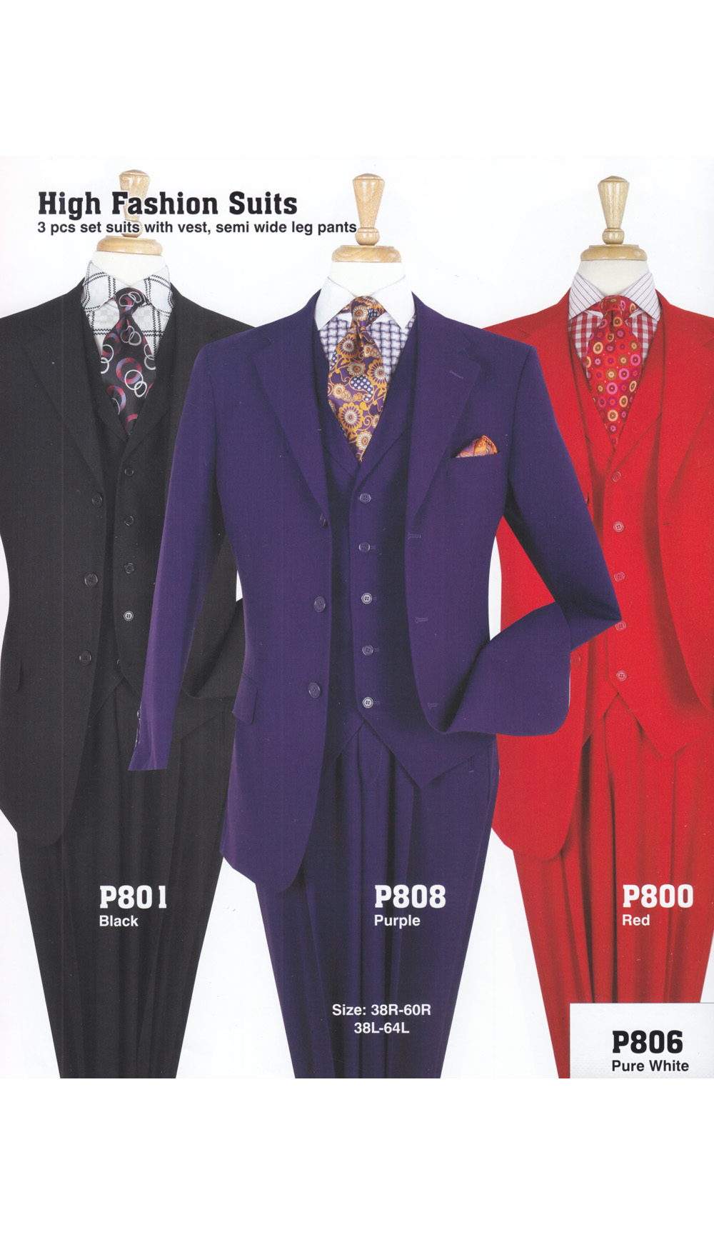 High Fashion Men Suits P808
