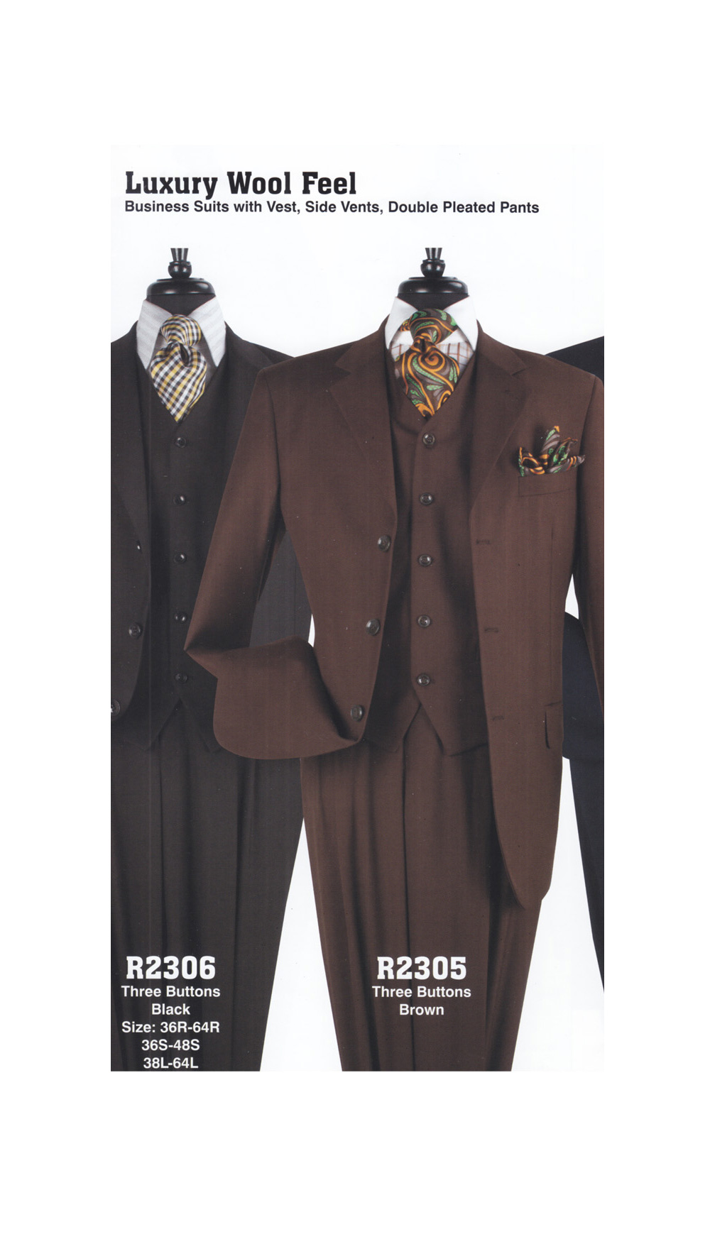 High Fashion Men Suits R2305