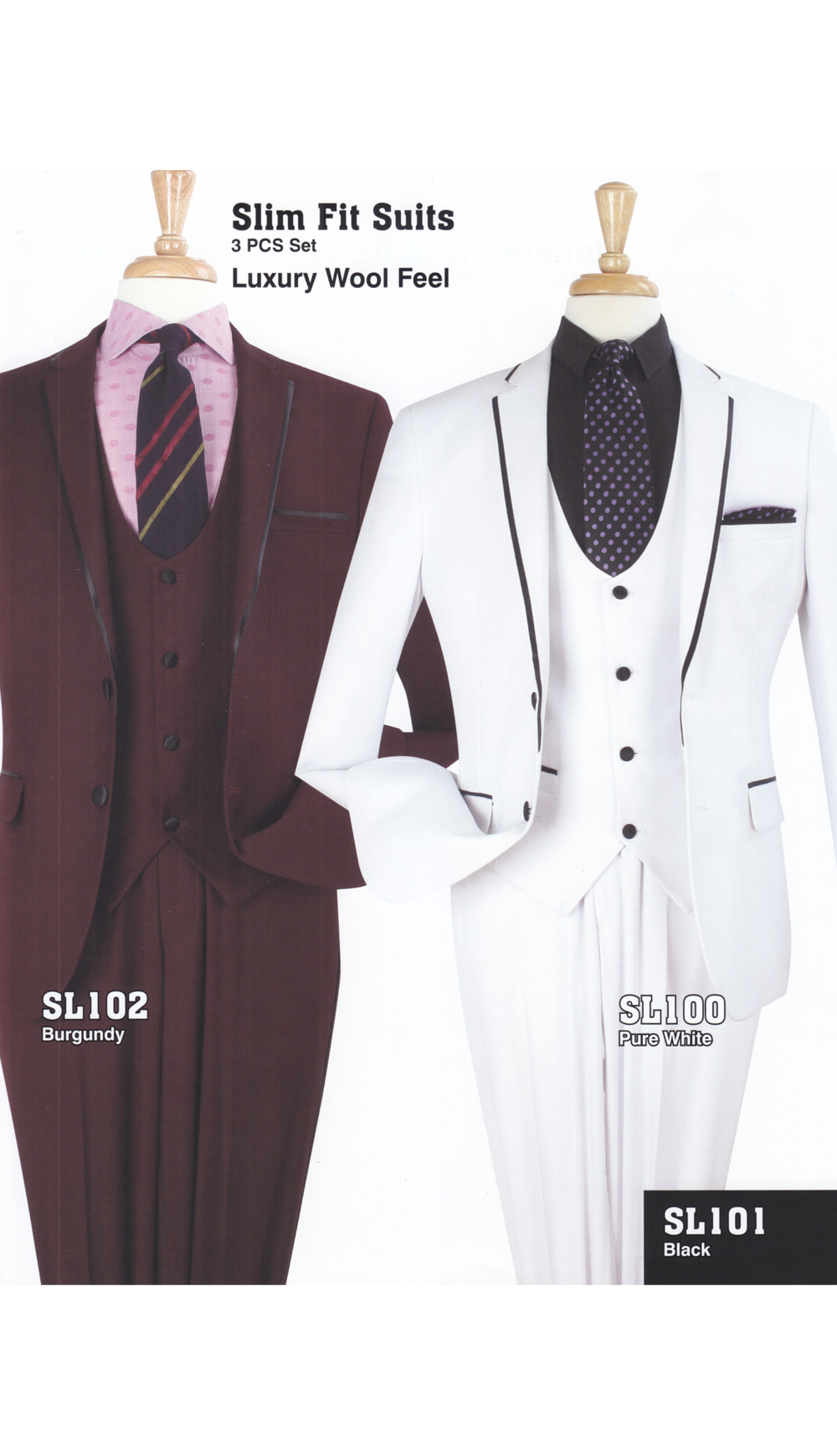 High Fashion Men Suits SL100