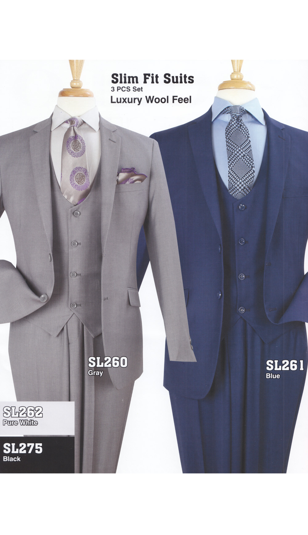 High Fashion Men Suits SL261