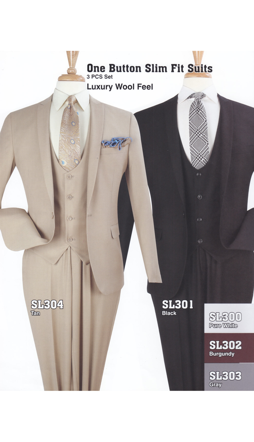 High Fashion Men Suits SL301