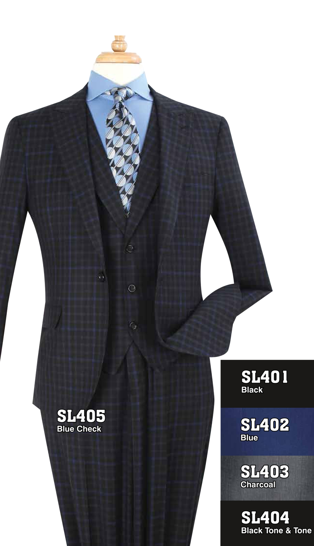 High Fashion Men Suits SL405