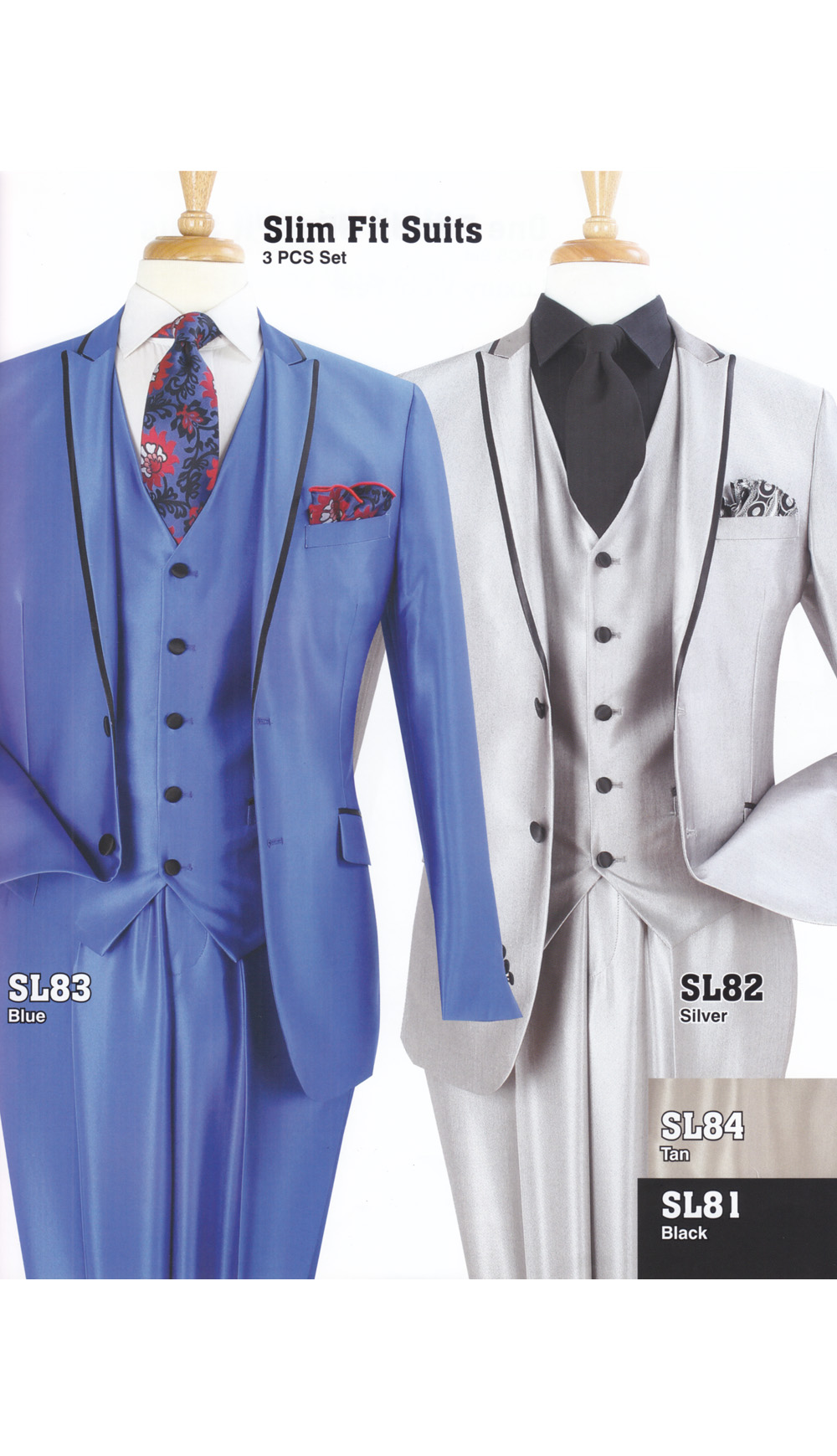 High Fashion Men Suits SL83