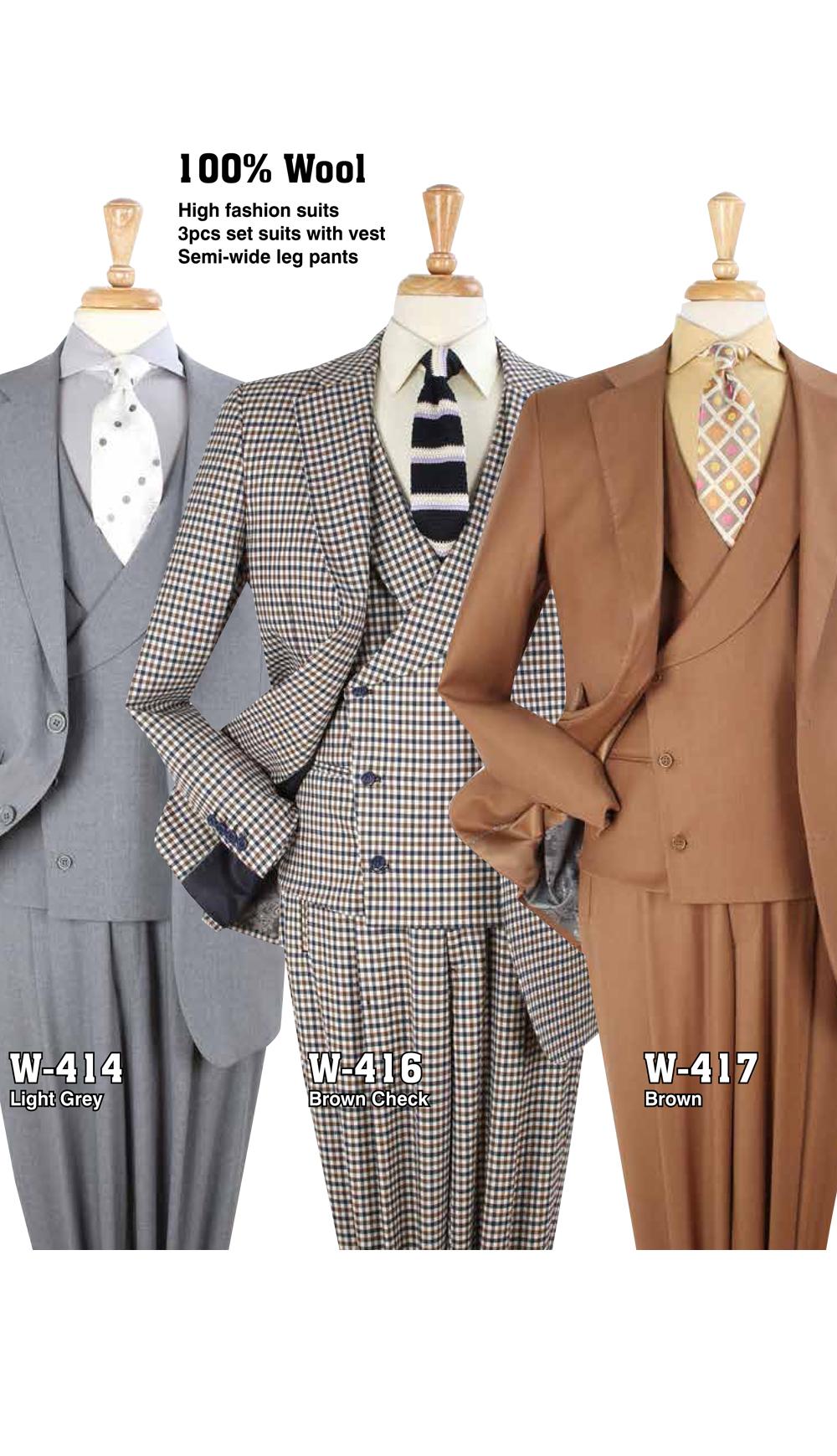High Fashion Men Suits W-414