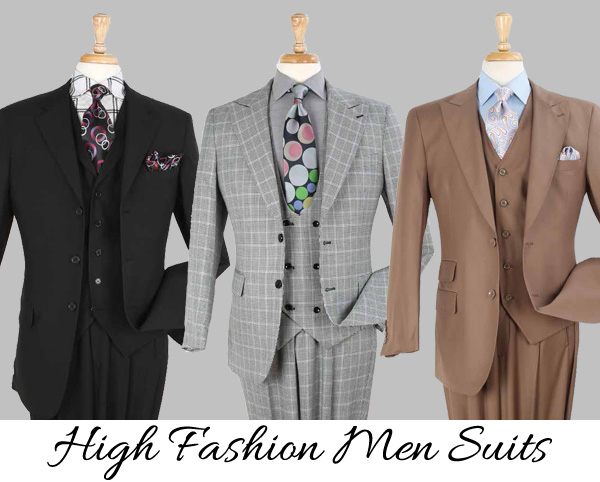 High Fashion Men's Suits