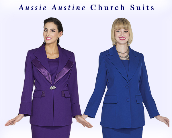 Aussie Austine Church Suits and Dresses
