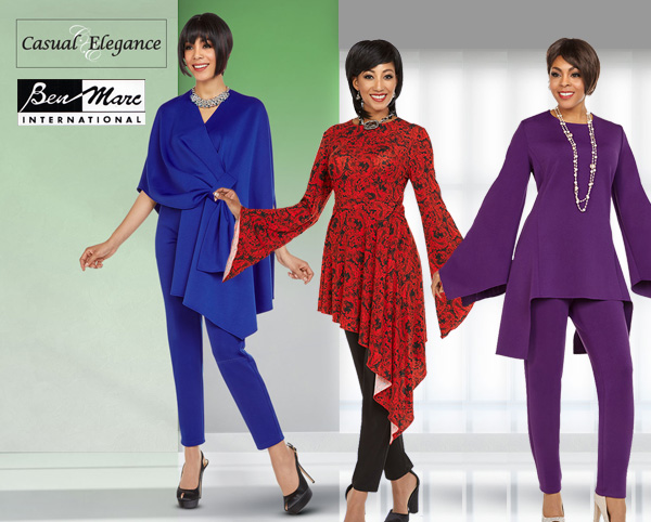 Casual Elegance by Ben Marc Fall Holiday Catalog