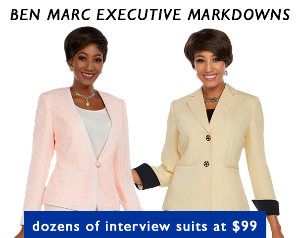 Ben Marc Executive MARKDOWNS