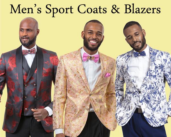 Mens Sport Coats and Blazers