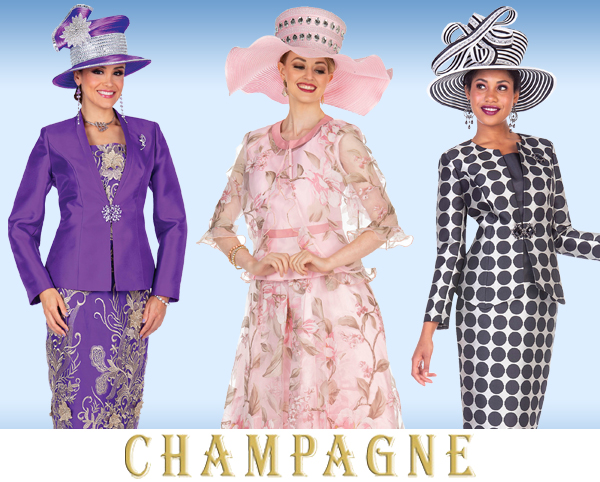 Champagne Italy Suits Spring and Summer 2019