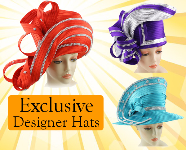 Exclusive Designer Hats Spring And Summer 2018