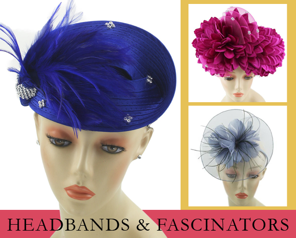 Headbands and Fascinators Spring and Summer