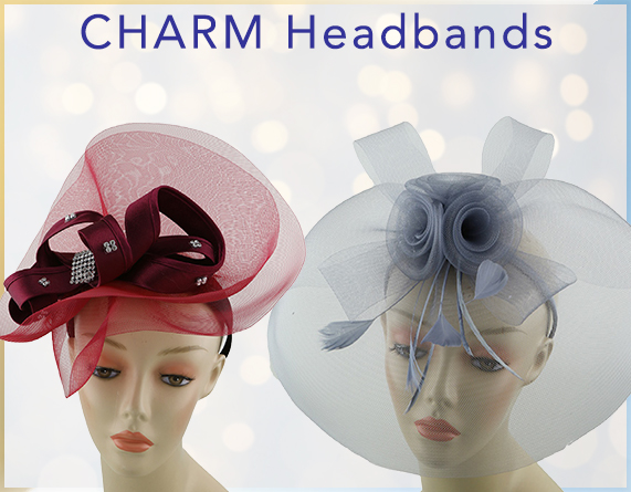 Charm Headbands and Fascinators