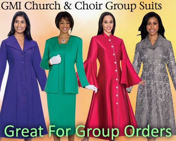 GMI Church and Choir Group Suits Spring And Summer 2018