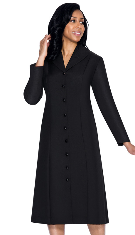 G11674-BLK ( 1pc GMI Church And Choir Robe )