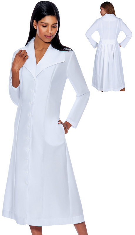 G11573-WH ( 1pc GMI Church And Choir Robe )