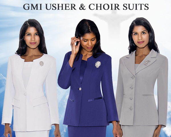 GMI Usher and Choir Suits