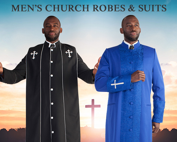 Mens Church Robes and Suits
